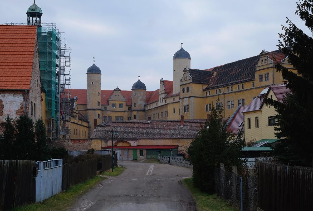 Schloss Lichtenburg von Südosten