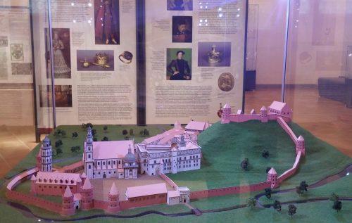 Vilnius Modell der alten Palastanlage