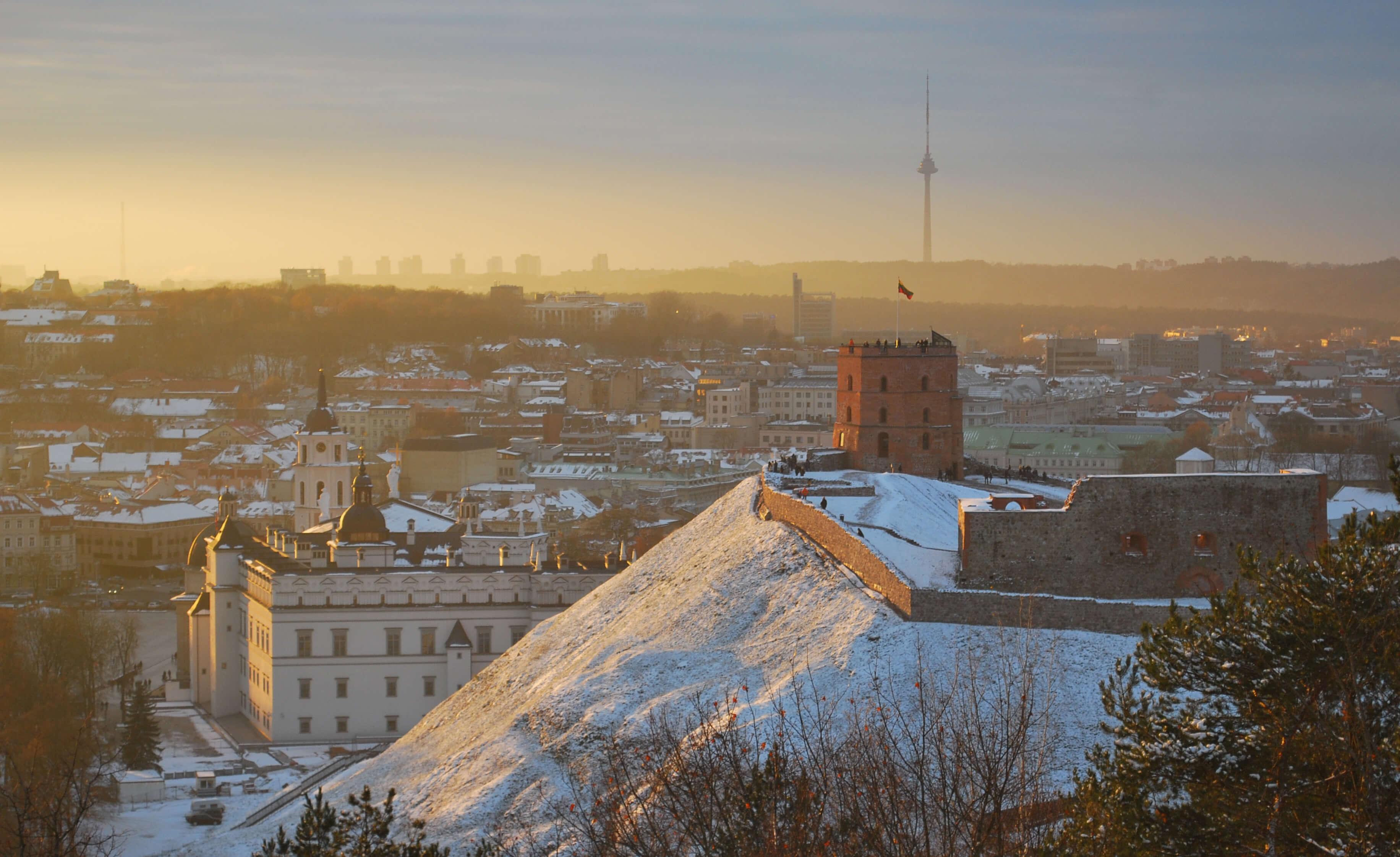 Vilnius Palastanlage heute