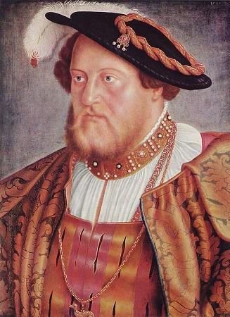 Barthel Beham, Pfalzgraf Ottheinrich von der Pfalz, 1535, Alte Pinakothek München. Quelle: The Yorck Project, https://goo.gl/Mmk7YL, aufgerufen am 10.12.2016